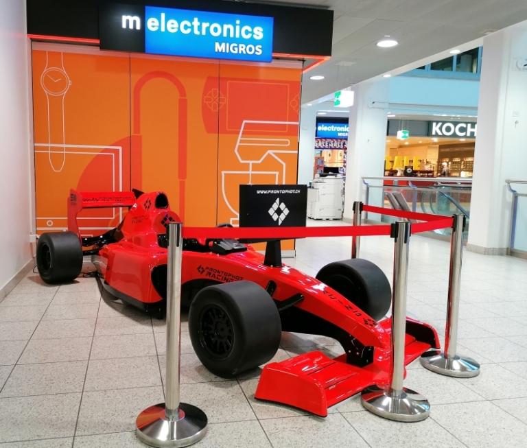 Formula 1 Kiddie Ride